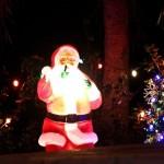 Christmas Decorations Lights Lighting Bermuda December 2011-1-24