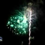 Fireworks At 2011 Boat Parade Hamilton Harbour Bermuda December 10 2011-1-11