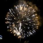 Fireworks At 2011 Boat Parade Hamilton Harbour Bermuda December 10 2011-1-12