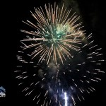 Fireworks At 2011 Boat Parade Hamilton Harbour Bermuda December 10 2011-1-14