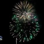 Fireworks At 2011 Boat Parade Hamilton Harbour Bermuda December 10 2011-1-15