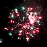 Fireworks At 2011 Boat Parade Hamilton Harbour Bermuda December 10 2011-1-16
