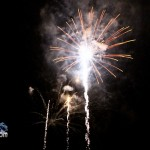 Fireworks At 2011 Boat Parade Hamilton Harbour Bermuda December 10 2011-1-17