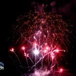 Fireworks At 2011 Boat Parade Hamilton Harbour Bermuda December 10 2011-1-26