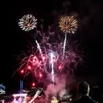 Fireworks At 2011 Boat Parade Hamilton Harbour Bermuda December 10 2011-1-29
