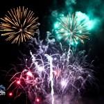 Fireworks At 2011 Boat Parade Hamilton Harbour Bermuda December 10 2011-1-30