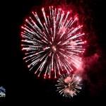 Fireworks At 2011 Boat Parade Hamilton Harbour Bermuda December 10 2011-1-36
