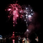 Fireworks At 2011 Boat Parade Hamilton Harbour Bermuda December 10 2011-1-46