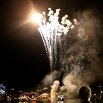 Fireworks At 2011 Boat Parade Hamilton Harbour Bermuda December 10 2011-1-48