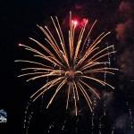 Fireworks At 2011 Boat Parade Hamilton Harbour Bermuda December 10 2011-1-5