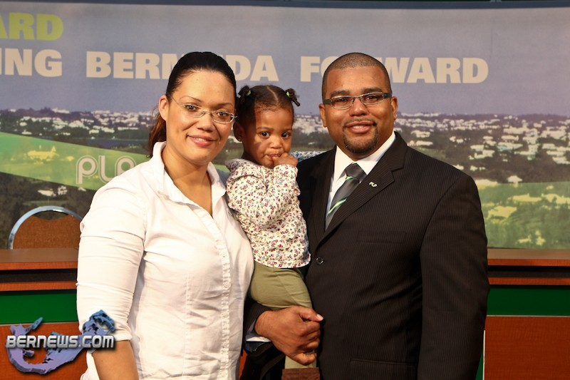 PLP Announce Candidate Diallo Rabain Bermuda December 5 2011-1-2