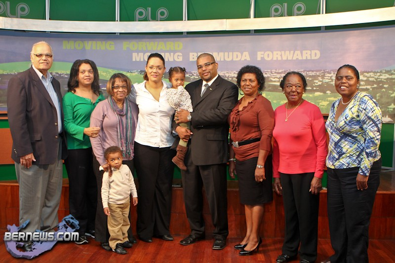 PLP Announce Candidate Diallo Rabain Bermuda December 5 2011-1-4