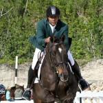 Horse Jumping Bermuda January 22 2011-1-22