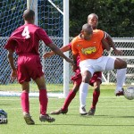 Flanagans Onions vs Hamilton Parish Football Soccer Bermuda February 5 2012