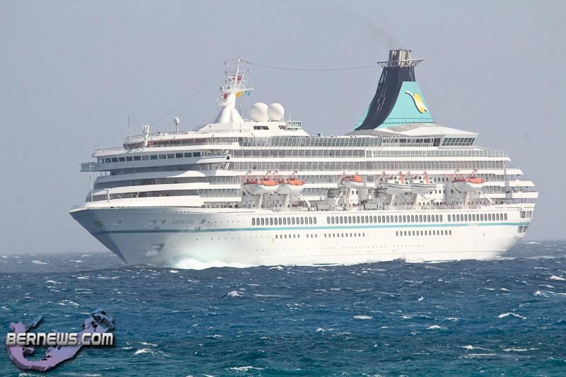First Cruise Ship Of Arrives Bernews Bernews - Cruise ship bermuda