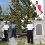 Annual Commemorative Service For King's Pilot James 'Jemmy' Darrell Bermuda Apr 14 2012 (18)