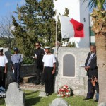 Annual Commemorative Service For King's Pilot James 'Jemmy' Darrell Bermuda Apr 14 2012 (26)