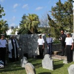 Annual Commemorative Service For King's Pilot James 'Jemmy' Darrell Bermuda Apr 14 2012 (27)
