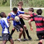 Under 16 National Select Bermuda Rugby Team vs Yardley April 14 2012