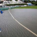 Rain Flooding St Johns Field Dandy Town Bermuda June 15 2012-1-6