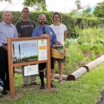 Sunshine League's Catlin Community Garden Opened Bermuda June 7 2012-017