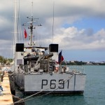 French Navy's La Tapageuse visits St George's Bermuda July 15 2012 (1)