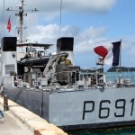French Navy's La Tapageuse visits St George's Bermuda July 15 2012 (2)