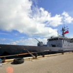 French Navy's La Tapageuse visits St George's Bermuda July 15 2012 (6)