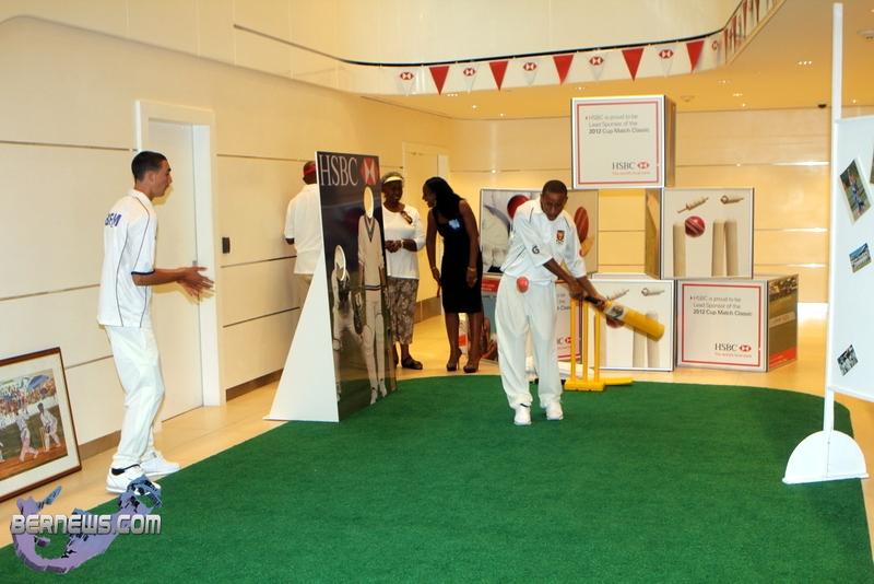 Photos HSBC Bermuda Pre- Cup Match Celebrations 2012