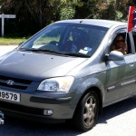 Somerset Cup Match Cricket Team Motorcade, Bermuda, August 4 2012 (10)