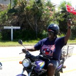 Somerset Cup Match Cricket Team Motorcade, Bermuda, August 4 2012 (15)