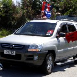 Somerset Cup Match Cricket Team Motorcade, Bermuda, August 4 2012 (19)