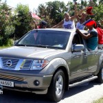 Somerset Cup Match Cricket Team Motorcade, Bermuda, August 4 2012 (20)