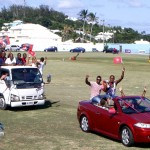 Somerset Cup Match Cricket Team Motorcade, Bermuda, August 4 2012 (29)