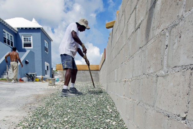 Recycled Glass Used As A Construction Material : Recycled glass used as construction material bernews
