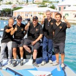 Fabio Buzzi in Col Moschin Set New New York to Bermuda Challenge Record, September 28 2012 (6)