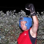 Jeff Sousa Boxing Teresa Perozzi Harbour Nights Bermuda, September 5 2012 (1)