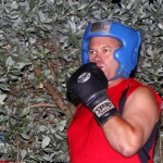 Jeff Sousa Boxing Teresa Perozzi Harbour Nights Bermuda, September 5 2012 (2)