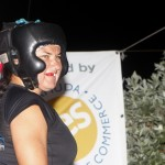 Jeff Sousa Boxing Teresa Perozzi Harbour Nights Bermuda, September 5 2012 (3)