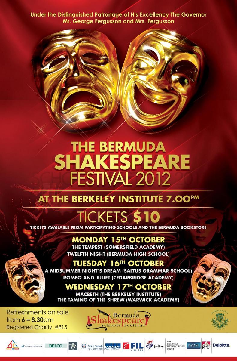 Shakespeare Schools Festival Tonight