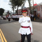 Bermuda Regiment Commanding Officer Lt Col Brian Gonzalves