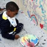 "Chewstick ""Peace"" Mural Painting Bermuda, December 1 2012 (1)"