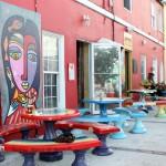 "Chewstick ""Peace"" Mural Painting Bermuda, December 1 2012 (15)"