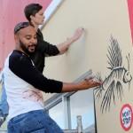 "Chewstick ""Peace"" Mural Painting Bermuda, December 1 2012 (16)"