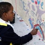 "Chewstick ""Peace"" Mural Painting Bermuda, December 1 2012 (2)"
