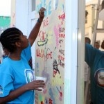 "Chewstick ""Peace"" Mural Painting Bermuda, December 1 2012 (28)"