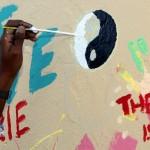 "Chewstick ""Peace"" Mural Painting Bermuda, December 1 2012 (29)"