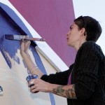 "Chewstick ""Peace"" Mural Painting Bermuda, December 1 2012 (3)"