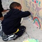 "Chewstick ""Peace"" Mural Painting Bermuda, December 1 2012 (30)"