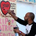 "Chewstick ""Peace"" Mural Painting Bermuda, December 1 2012 (31)"